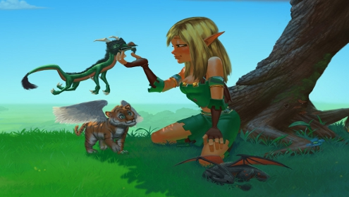 Dungeon Defenders Huntress Wallpaper Games Out This Week – 21/10/11