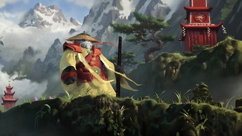 World of Warcraft Mists of Pandaria Pandaren Artwork