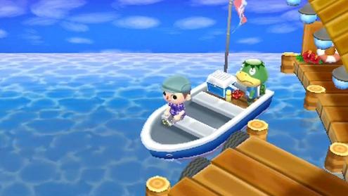 Frog sail time.