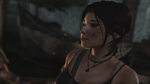 Lara Croft has seen better days to be honest.