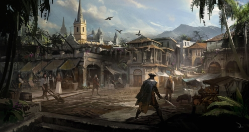 Assassin's Creed IV Black Flag Artwork 1