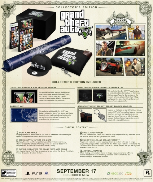 Grand Theft Auto Collector's Edition Big