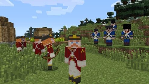 Minecraft Xbox 360 Edition Battle & Beasts Skin Pack