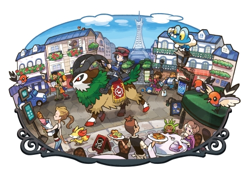 Pokémon X and Y Art 3