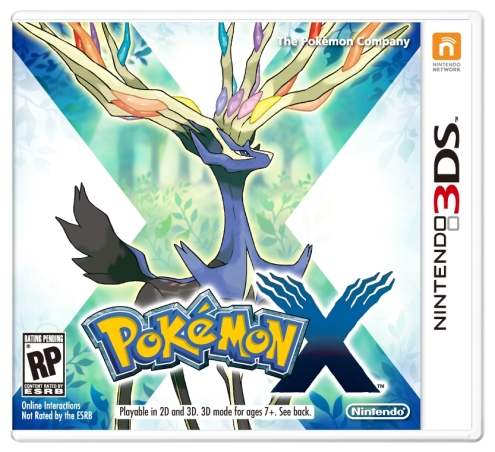 Pokémon X and Y - X Box Art