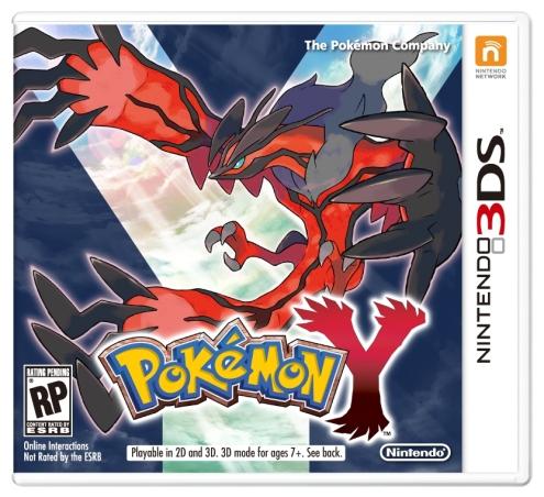 Pokémon X and Y - Y Box Art