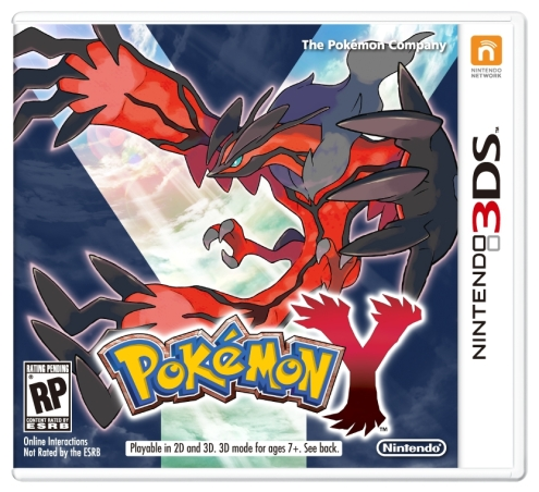 Pokémon X and Y - Y Box Art