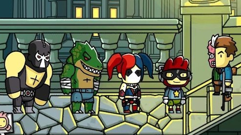I think that Scribblenauts Unmasked: A Marvel Comics Adventure would be better.