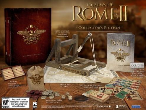 Total War Rome II Collectors Edition