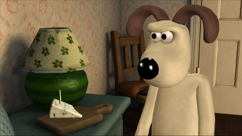 Gromit isn't happy.