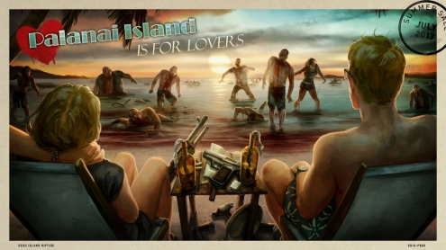 The 2013 Steam Summer Getaway Sale - Dead Island Riptide Background and Post Card