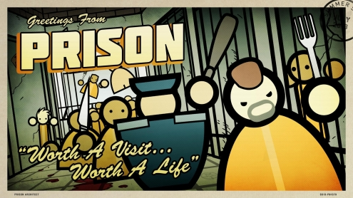 The 2013 Steam Summer Getaway Sale - Prison Architect Background and Post Card