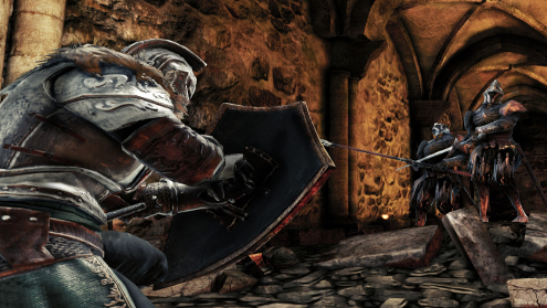 You can duel wield everything ins Dark Souls II even shields. You can't wield your heart.