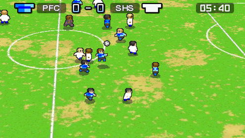 Its like watching the CPU playing Sensible Soccer.