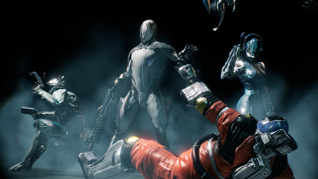 The Warframe designs are ok but are mostly bland.
