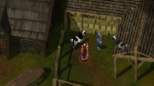 It's an RPG so you can talk to cows if you want. Probably.