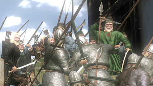 Warfare in medieval times was brutal compared to it now a days.
