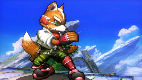 Fox is probably one of my favourites in Super Smash Bros.