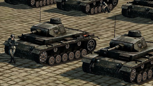 The more I think about it - Blitzkrieg is a very suitable name for this game.