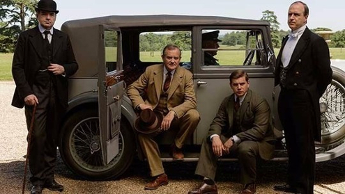 Downton Abbey ends while Upton Nunnery begins.