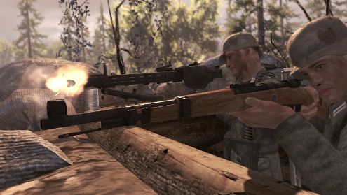 A mostly authentic World War II FPS with some debatable issues.