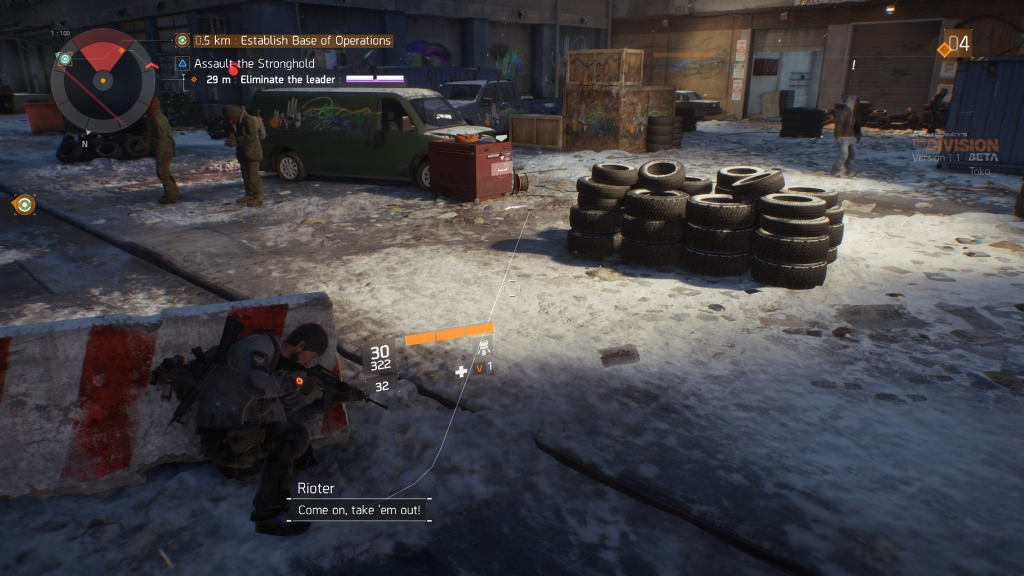 Enemy strongholds can be cleared for experience and a few loot boxes.
