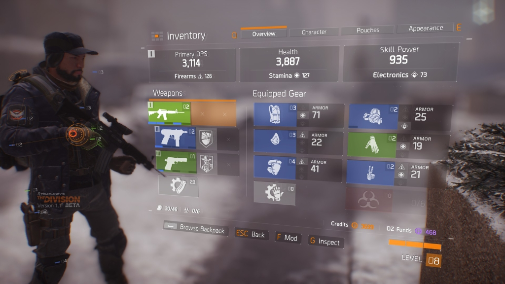 If you like higher numbers but similar looking loot then The Division is for you.