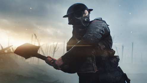 It may not be historically accurate but Battlefield 1 seems like it could be good.