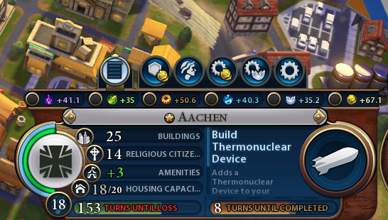Civilization VI needs better tooltips and access to information.