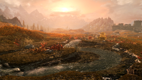 Skyrim Special Edition aka as the PC Game of the Year Edition. Still good.
