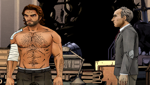 Best Xbox One Game: The Wolf Among Us.