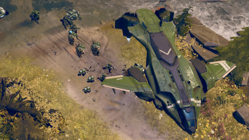 Halo Wars remind me of Killzone: Liberation. Now that was a good game.